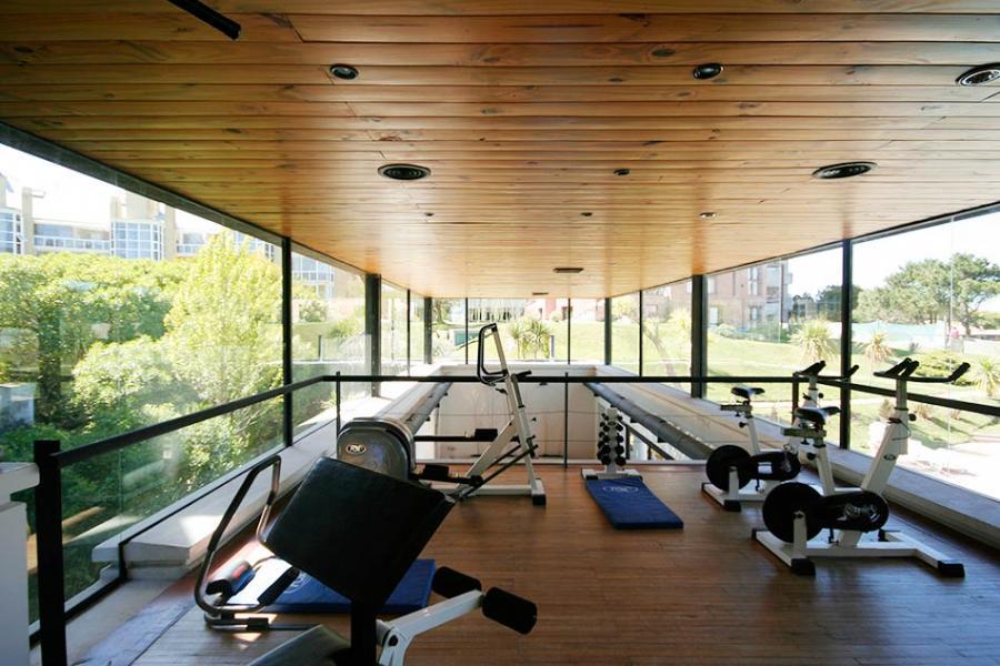 Gym en zona spa